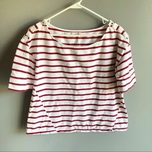 Anthro | Pilcro and the letterpress Striped Top